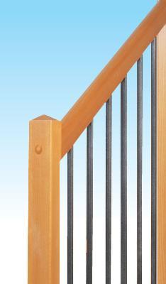 C 7 modelli di ringhiere per le nostre scale scale a for Corrimano in legno roma