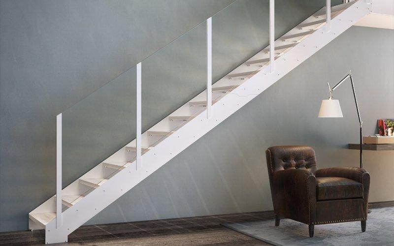 Scala modello fascia essential scale linea fontanot - Scale interno casa ...
