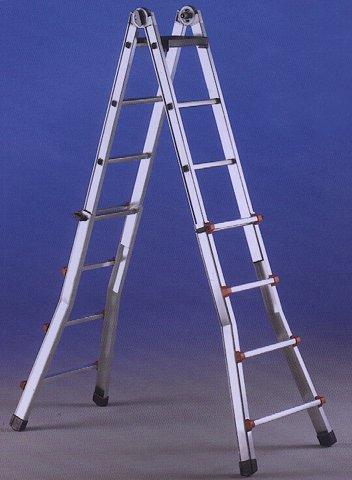 Scala telescopica in alluminio scale telescopiche - Scala telescopica alluminio ...