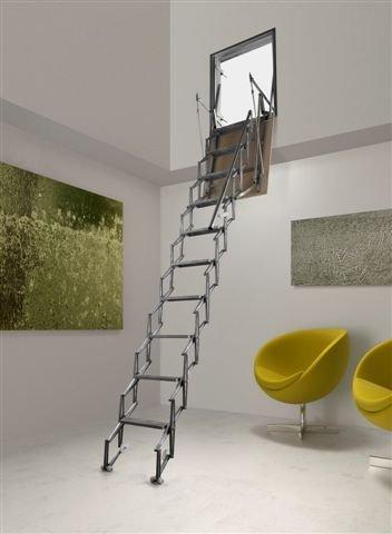 Scale a parete verticale scale retrattili catalogo - Scale retrattili a parete ...