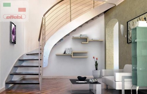 Rampa scale a giorno scale d 39 arredamento a rampa e a chiocciola per interno ed esterno - Scale a rampa ...