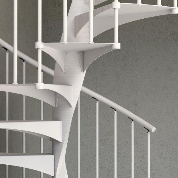 Scala a chiocciola e 20 scale d 39 arredamento di design for Scala a chiocciola di 5 piedi