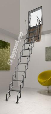 Scale a parete verticale scale retrattili catalogo - Scale a parete ...