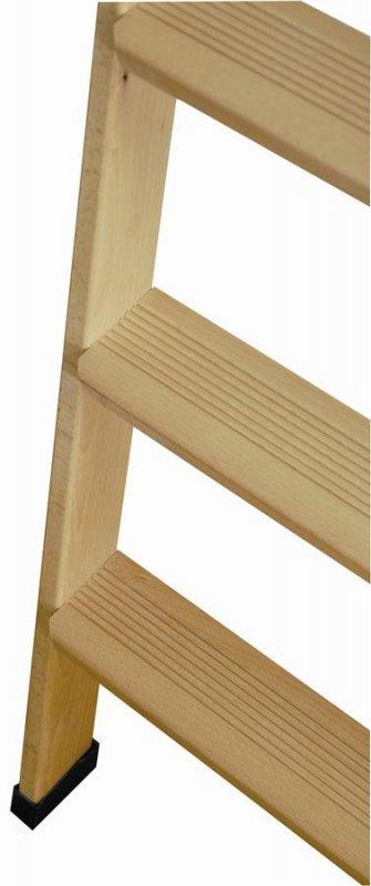 Scala a pioli in legno scala in legno per soppalchi for Scale per librerie in legno